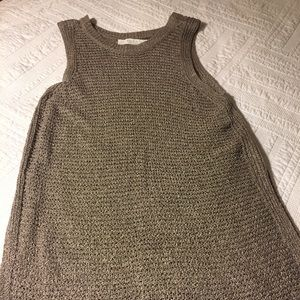 Open knit, tank tunic by Astr from Nordstrom